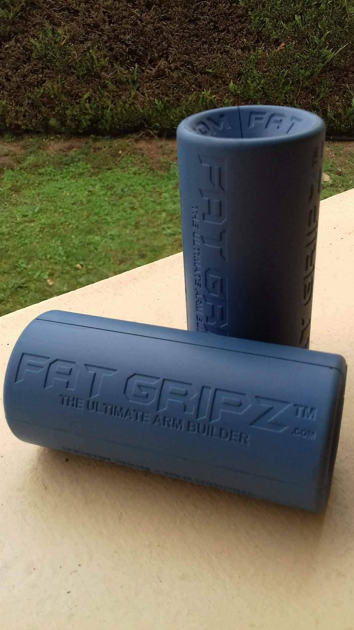 5,7 cm de Diam/ètre bleu Fat Gripz- Le d/éveloppeur de bras supr/ême